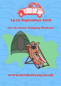 2cv de Jersey Camping flyer