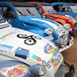 French 2cv cars