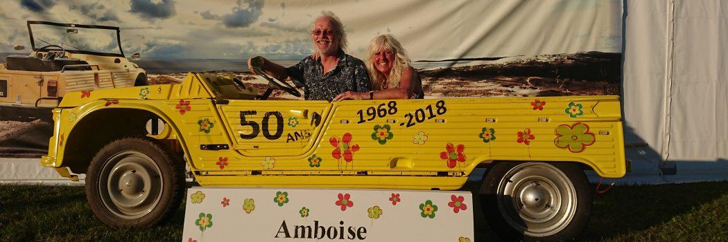 Amboise, 50th birthday of the mehari